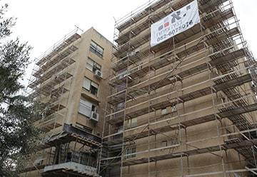 חיזוק ושיפוץ בניינים